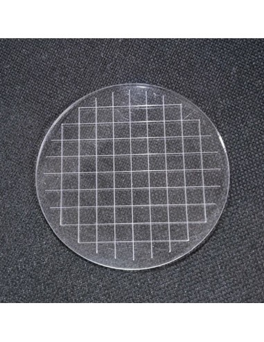 Base redonda de metacrilato 11 cm