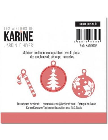 Dies Jardin d'Hiver 'Breloques Noël'...