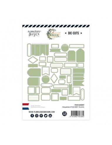 Die Cuts nº 26 Vert Tilleul -...