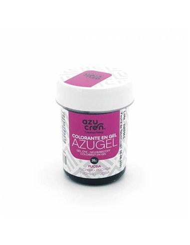 Azucren colorante en gel Fucsia azugel