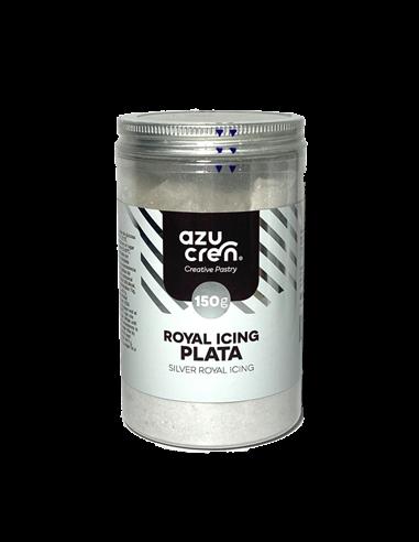 Azucren royal icing plata 150 gramos