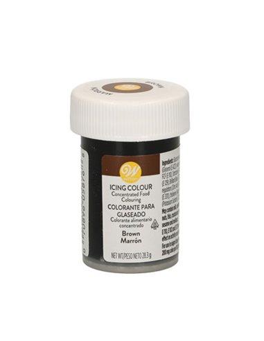 Wilton colorante marron brown 283 gramos