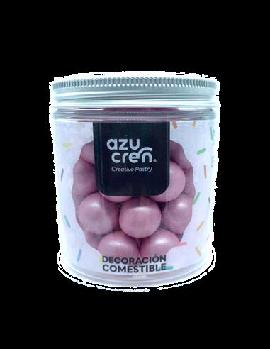 Azucren bolas rosa azucar chocolate y cereales
