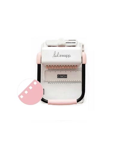 Cinch - Encuadernadora rosa - Cuadrados