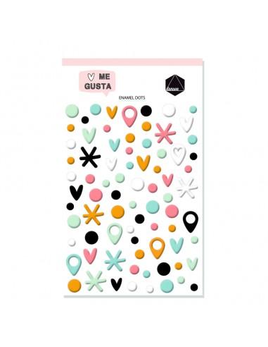 Dunaon Me gusta - Enamel Dots