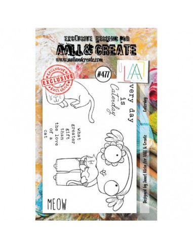 AALL & Create - Sello Caterday 477