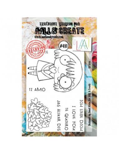 AALL & Create - Sello Lil Love 481