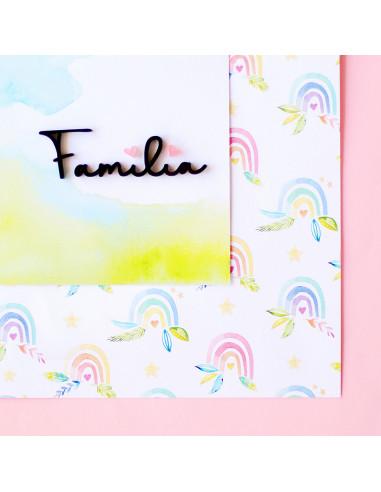 Colección Calma - Metacrilato Familia