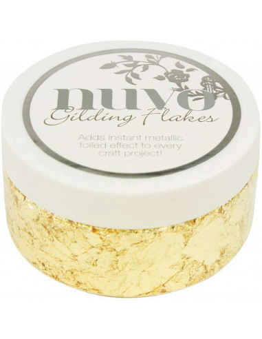 Nuvo • Gilding flakes Radiant gold