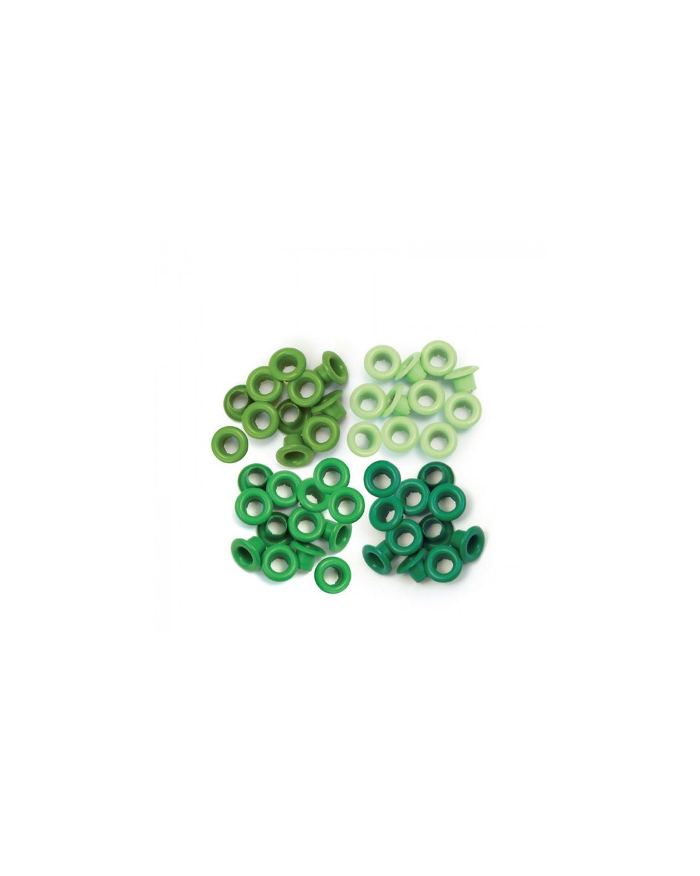 We R Memory Keepers Standard eyelets Green x 60