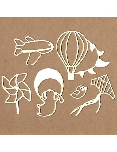 Set Chipboard - Boy From The Sky