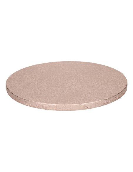 FunCakes Cake Drum Base Redonda Ø30,5cm -Rose Gold-