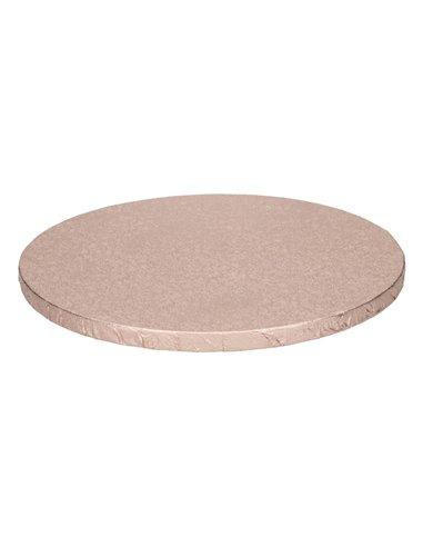 FunCakes Cake Drum Base Redonda Ø25cm -Rose Gold-