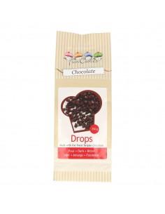 FunCakes Chips (Gotas) Chocolate Negro, 350gr+