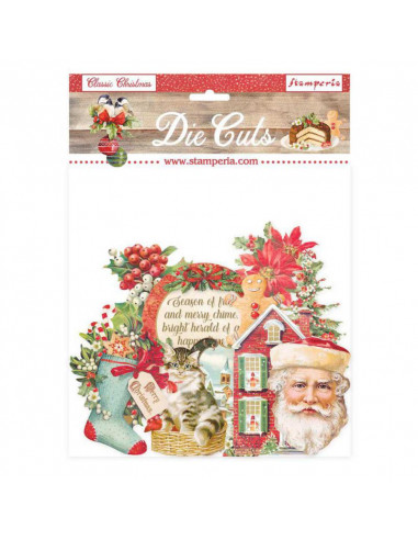 Die cuts assorted - Classic Christmas