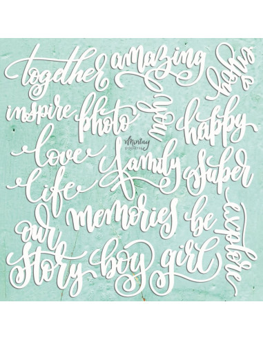 Mintay Chippies - Decor Words Set