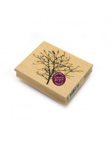 Sello de madera Branchage Fin -...