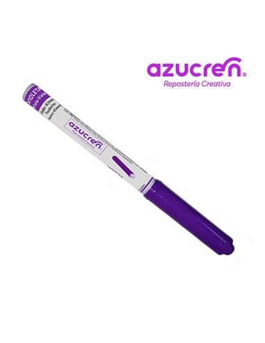 Azucren rotulador comestible violeta+