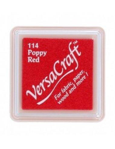 VKS-114 VersaCraft TAMPON PEQUEÑO 12 gr. POPPY RED