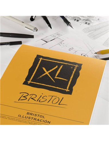 BLOC XL BRISTOL 29,7x42 (50HJ) 180GR.CANSON