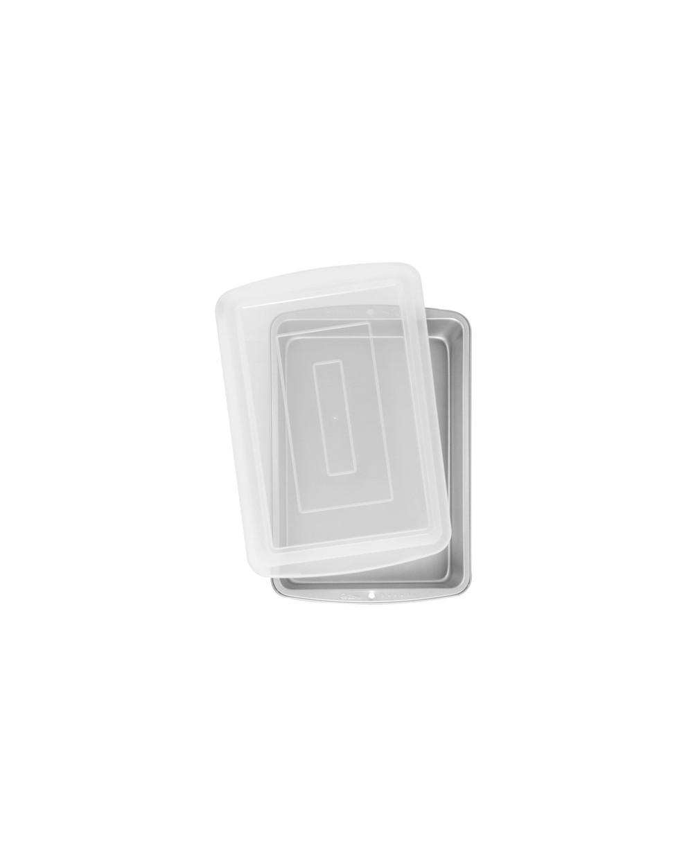 Wilton Recipe Right Molde Rectangular c/ tapa 32  5x22  5x5cm*
