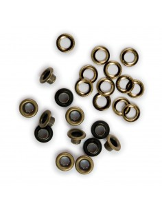 We R Memory Keepers eyelet & washer standard brass x60