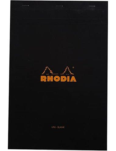 Bloc Rhodia Black grap. 80H, 80g 21