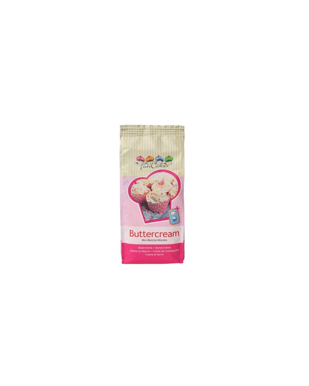 FunCakes Mezcla para Crema de Mantequilla (Buttercream)   500