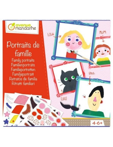 Coffret créatif, Portraits de famille