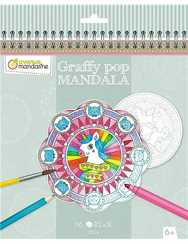 Graffy Pop Mandala,Magia