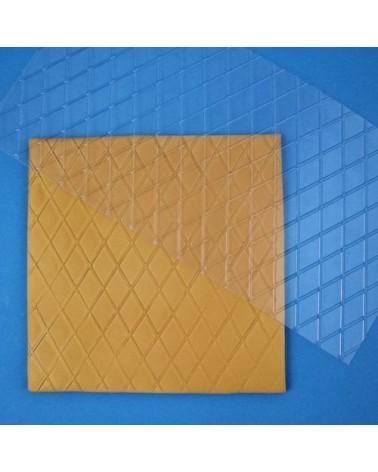PME Plantilla Texturizadora Diamante   Pequeña