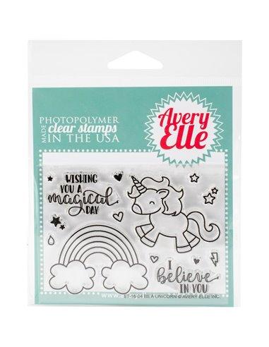 Sello acrilico Avery Elle - Be A Unicorn