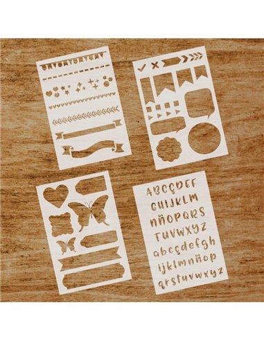 Stencils Bullet Journal
