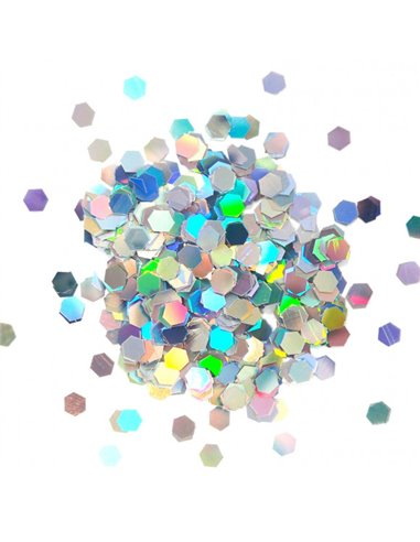 Cosmic Shimmer holographic hexagons