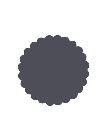 Troqueladora scallop circle jumbo
