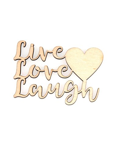 Palabra de madera – Live, Love, Lough
