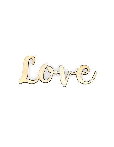 Palabra de madera - Love