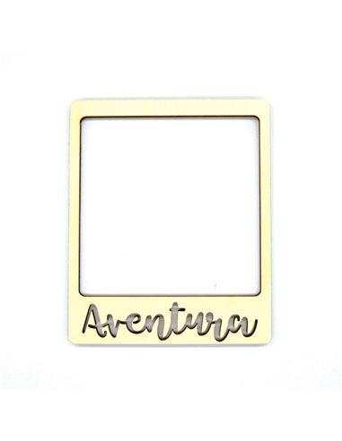 Marco de madera Polaroid – Aventura
