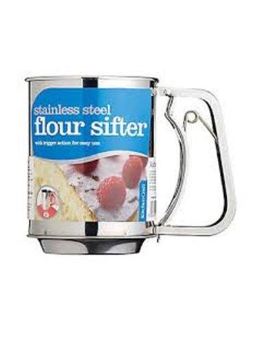 Kitchen Craft Aireador de harina de Acero Inox