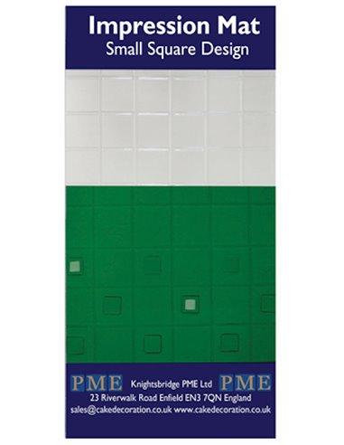PME Plantilla Texturizadora Cuadrados Pequeña