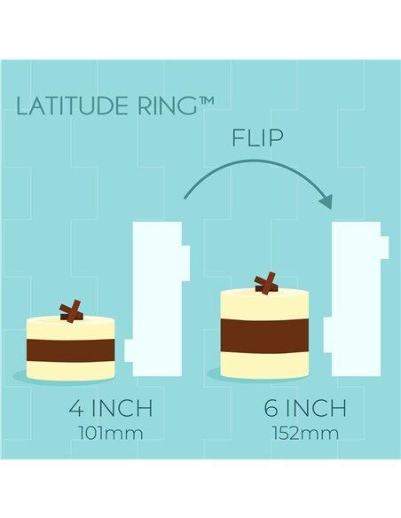 PME Alisador Acrílico Latitude Ring 4 & 6 Tall