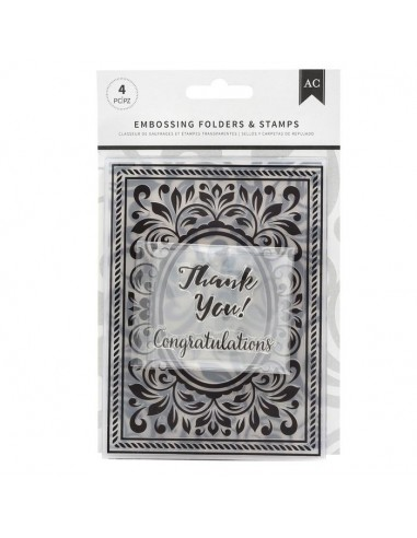 Embossing Folders and Stamp...