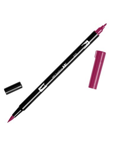 Rotulador Tombow - 837 Wine Red