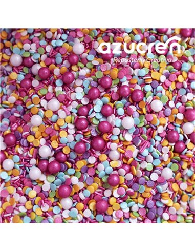Azucren Sprinkles Chicle 90 gramos