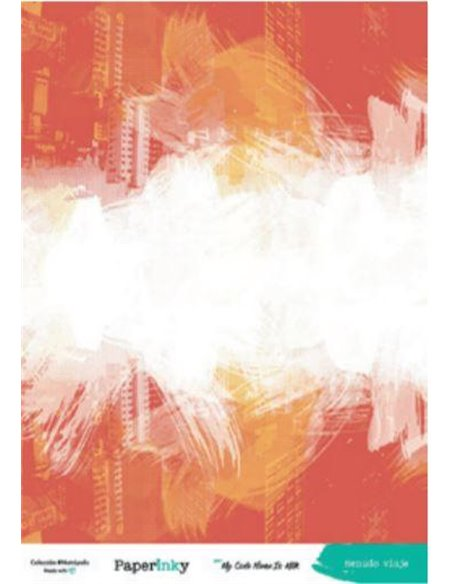 Pack 15x20. 16 papeles a una cara. METROPOLIS By Paperinky