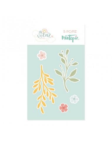 Mintopía A Volar troquel flor de olivo