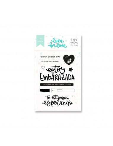 Lora Bailora Set de sellos acrilicos...