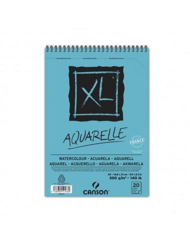 BLOC XL AQUARELLE A5-14,8X21CM....
