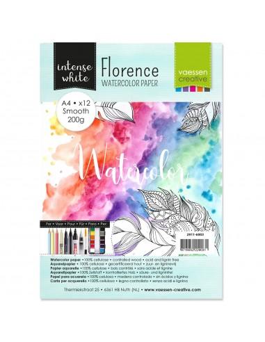 Florence • Papel de acuarela smooth...