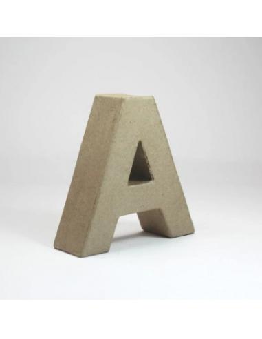 Letra de Cartón Craft Pequeña - A
